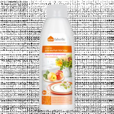 Концентрированное средство для мытья посуды с биоэнзимами с ароматом яблок Faberlic