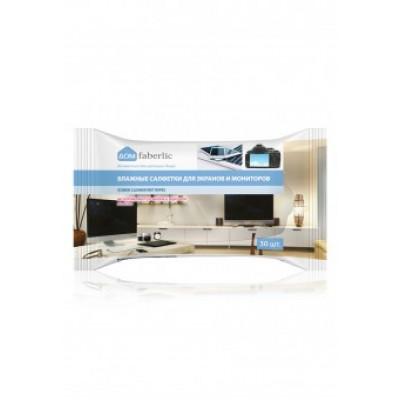 Салфетки влажные для экранов и мониторов всех типов Faberlic
