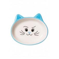 Миска для кошки Faberlic голубая