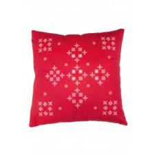 Подушка «Снежинки» Faberlic цвет Красный