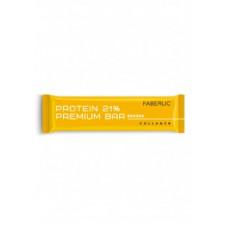 Батончик глазированный «Protein Premium Bar» Faberlic со вкусом банана