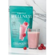 Сухая смесь для приготовления коктейля Wellness со вкусом малины Faberlic
