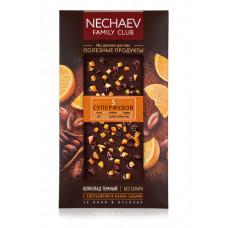 Шоколад темный «5 суперфудов» Faberlic с апельсином и какао бобами