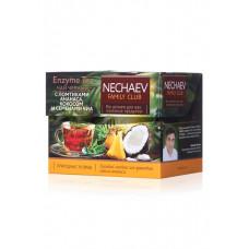 Чай листовой чёрный «Enzyme Tea» Faberlic с ломтиками ананаса, кокосом и семенами чиа