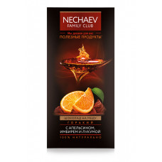 Шоколад на меду горький с апельсином, имбирем и лукумой Faberlic