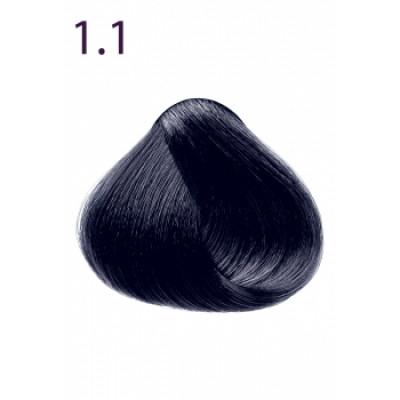 Стойкая крем-краска «Максимум цвета» Faberlic тон Черно-синий 1.1