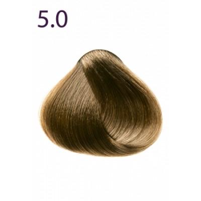 Стойкая крем-краска «Максимум цвета» Faberlic тон Светлый каштан 5.0