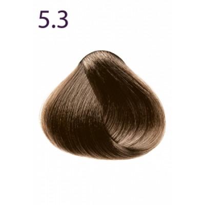 Стойкая крем-краска «Максимум цвета» Faberlic тон Светлый каштан золотистый 5.3