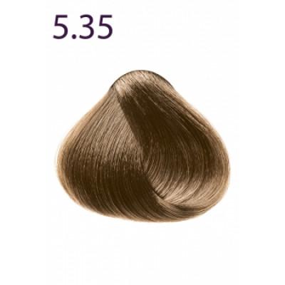 Стойкая крем-краска «Максимум цвета» Faberlic тон Светлый каштан шоколадный 5.35
