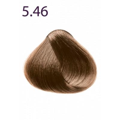 Стойкая крем-краска «Максимум цвета» Faberlic тон Светлый каштан медно-красный 5.46