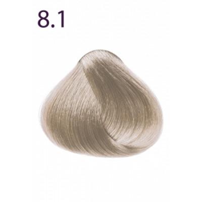 Стойкая крем-краска «Максимум цвета» Faberlic тон Светлый блондин пепельный 8.1