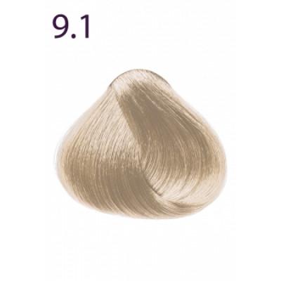 Стойкая крем-краска «Максимум цвета» Faberlic тон Очень светлый блондин пепельный 9.1