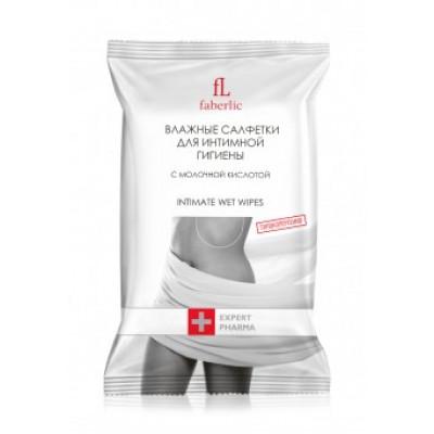 Влажные салфетки для интимной гигиены «Expert Pharma» Faberlic