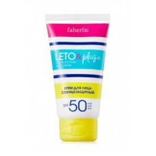 Крем для лица солнцезащитный «LETO&plage» Faberlic с SPF 50