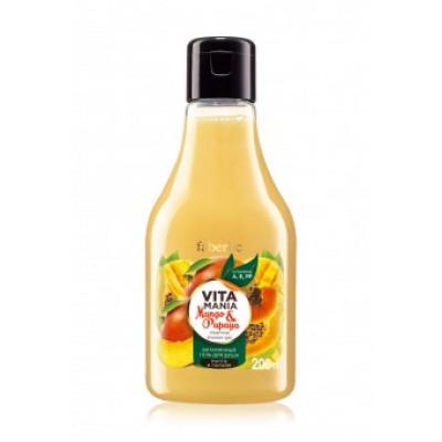 Витаминный гель для душа «Манго и папайя» Faberlic