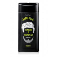 Шампунь-гель для душа 2 в 1 «BarberLab» Faberlic