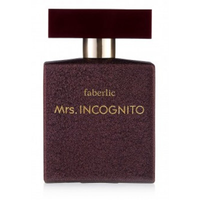 Парфюмерная вода для женщин «Mrs. Incognito» Faberlic