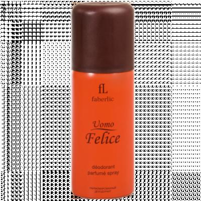 Парфюмированный дезодорант для мужчин «Uomo Felice» Faberlic