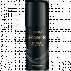 Парфюмированный дезодорант для мужчин «Incognito» Faberlic