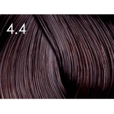 Стойкая крем-краска для волос «Шелковое окрашивание» без аммиака Faberlic тон Горячий шоколад 4.4