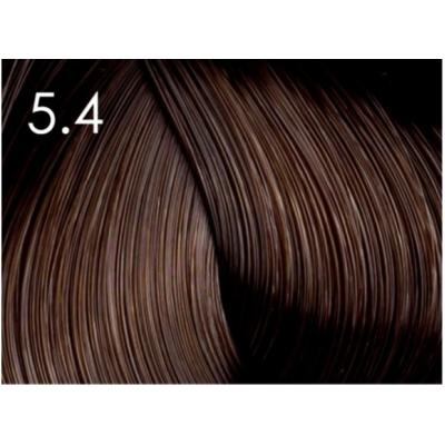Стойкая крем-краска для волос «Шелковое окрашивание» без аммиака Faberlic тон Лесной орех 5.4