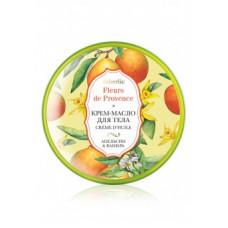 Крем-масло для тела «Апельсин и ваниль» Faberlic