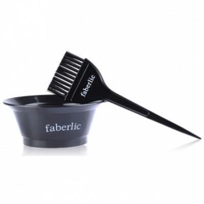 Набор для окрашивания волос (емкость+кисточка) Faberlic