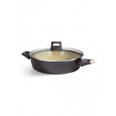 Глубокая сковорода с антипригарным покрытием Faberlic цвет Оливковый, 28 см