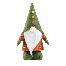 Гном Greenly Faberlic в зелёном колпаке