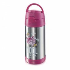 Термос «Сова» Faberlic цвет Малиновый