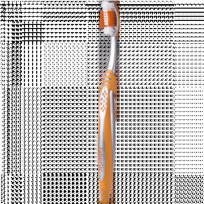 Зубная щётка с ионами серебра Faberlic оранжевая